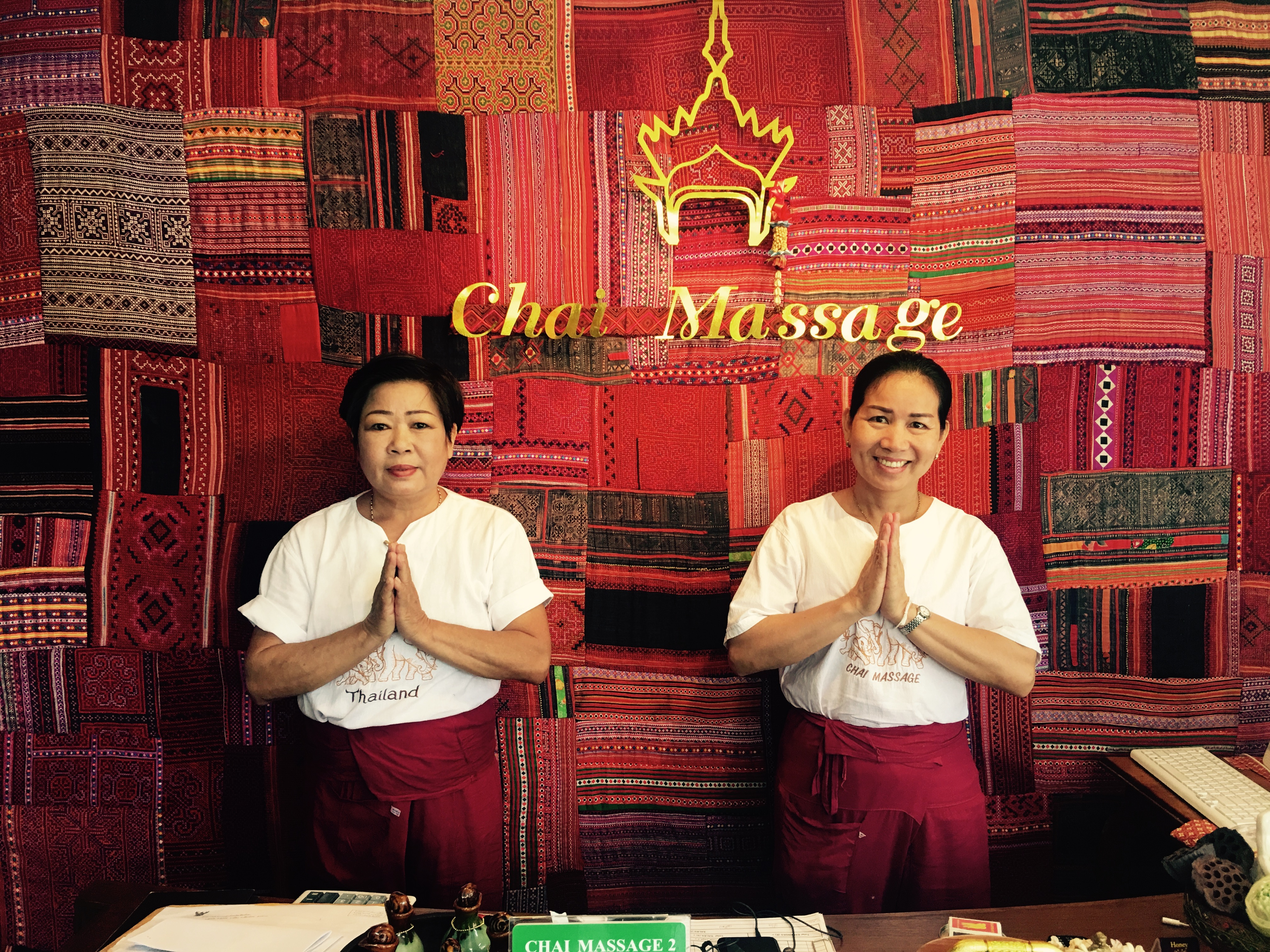 chai massage ,  night bazaar